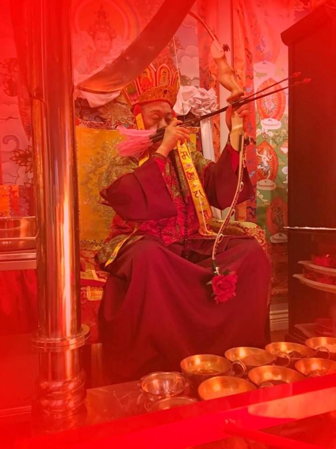 Master Liantzi held kurukulle fire homa