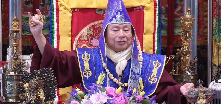當代漢人法王蓮生聖尊  西城開講薩迦教最高法《道果》