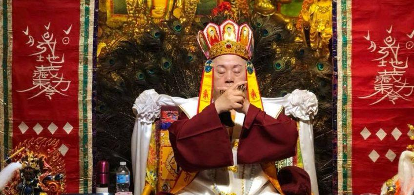 華光雷藏寺清明節梁皇寶懺密法營  成密法實踐課堂 受益良多