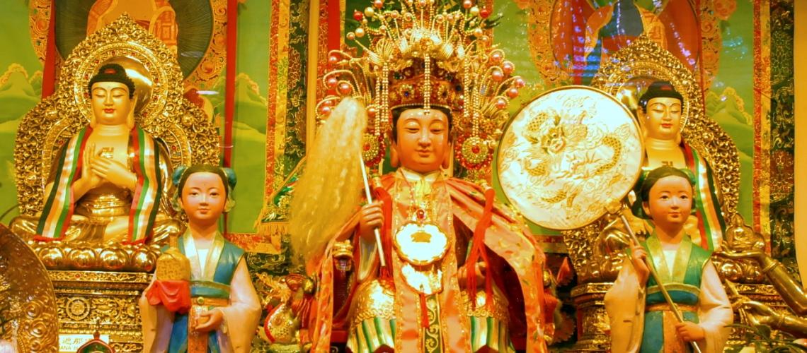 Main Shrine Golden Mother